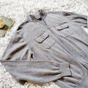 Michael Kors Zip Up Sweater
